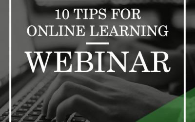 Webinar on Online Learning